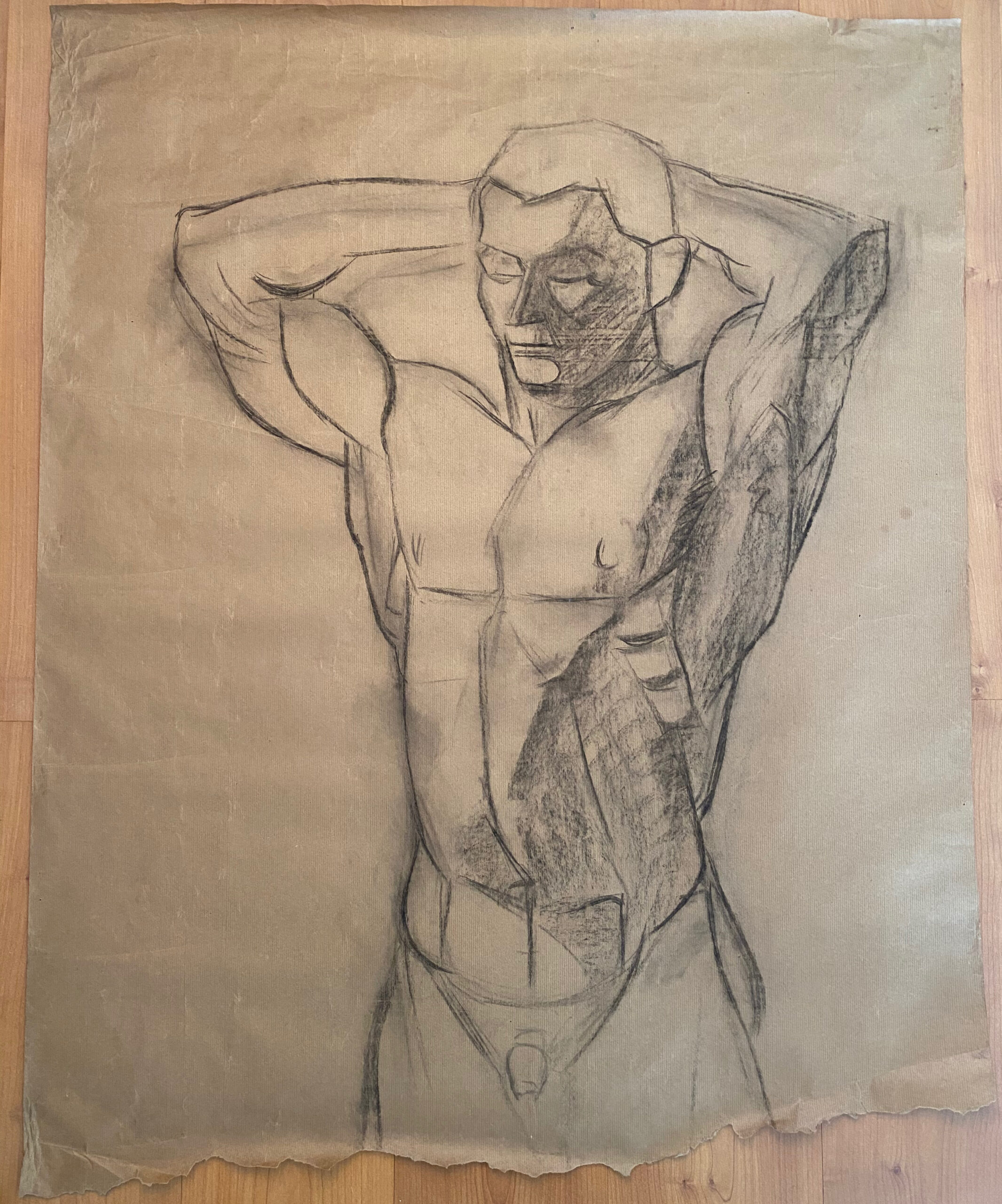 Creator: Benja Maton - van Gelderen (1926) Completion date: 1940-1944 Creation place: Rotterdam Signature: no Size: 89 x 103 cm Description:  Damages: