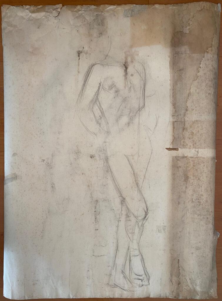 Creator: Benja Maton - van Gelderen (1926) Completion date: 1940-1944 Creation place: Rotterdam Signature: no Size: 74 x 100 cm Description:  Damages: