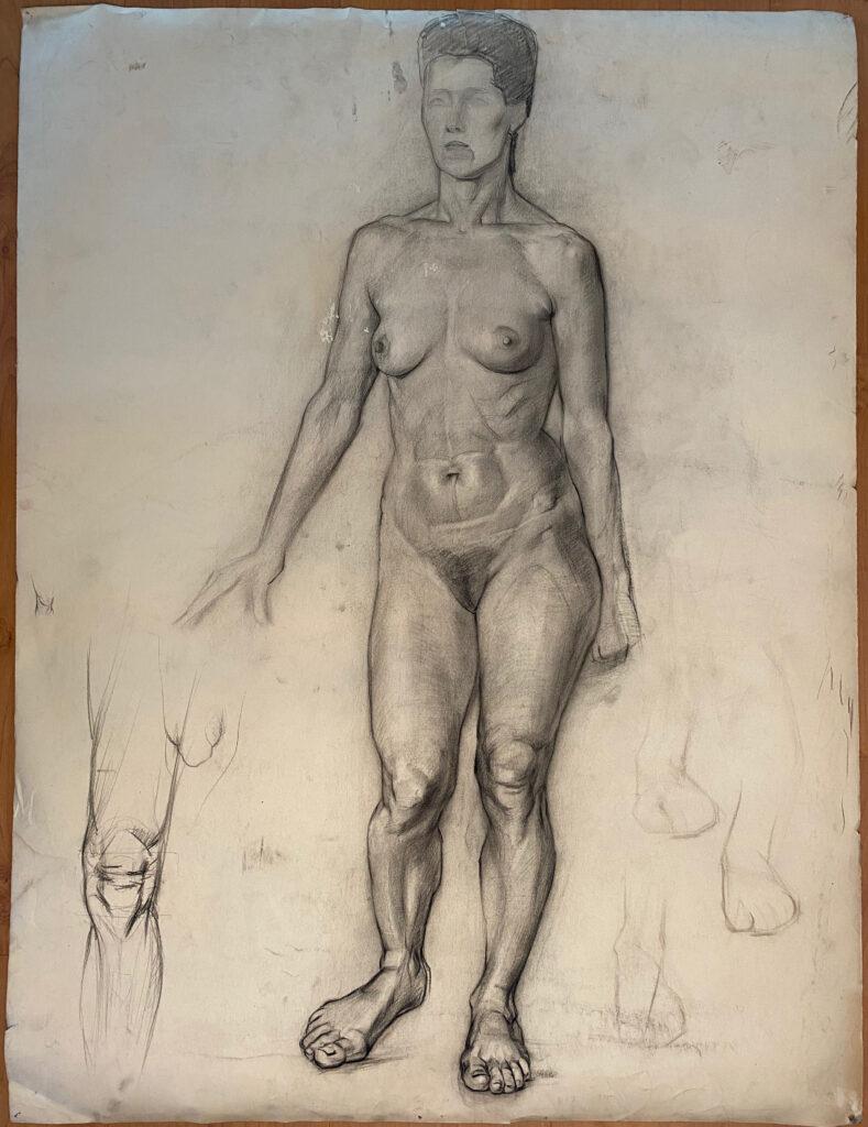 Creator: Benja Maton - van Gelderen (1926) Completion date: 1940-1944 Creation place: Rotterdam Signature: no Size: 75 x 100 cm Description:  Damages: