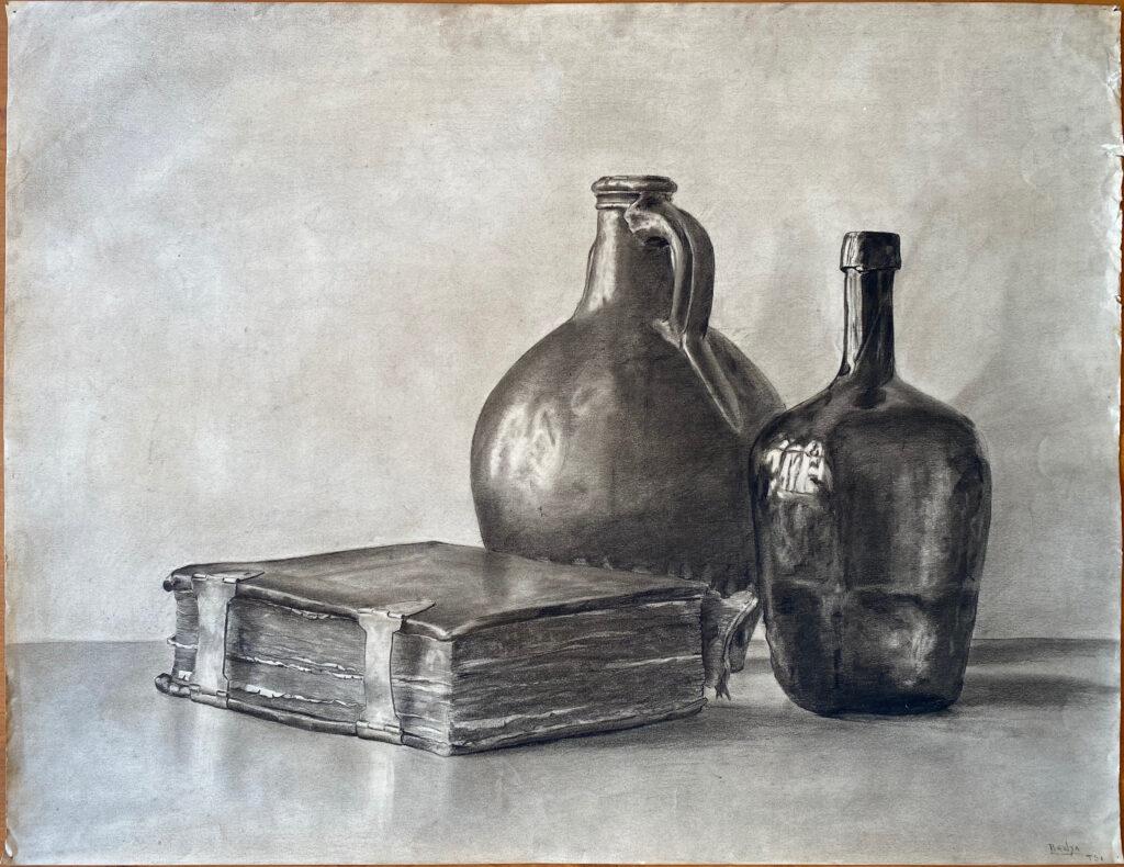 Creator: Benja Maton - van Gelderen (1926) Completion date: 1940-1944 Creation place: Rotterdam Signature: Benja TS1 Size: 65 x 50 cm Description: Damages: